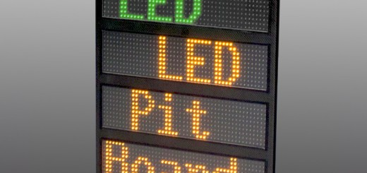 Carbon LED Boxentafel Pitboard