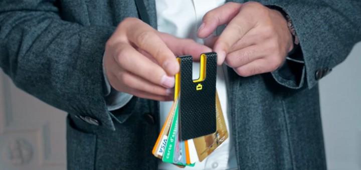 Echt Carbon Kreditkartenhalter