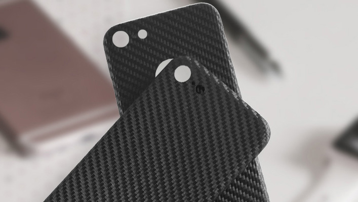 iPhone 8 Echt Carbon Cover