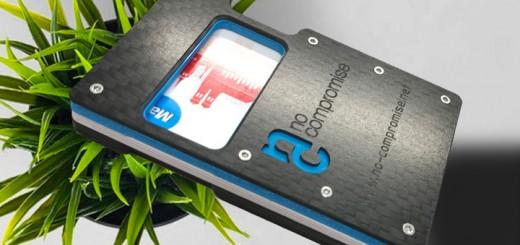 Carbon Geldbörse Kartenetui Wallet